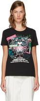 Kenzo Black Limited Edition flyer X Tiger T-shirt