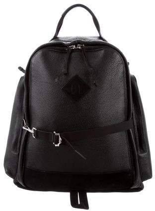 Tom Ford Leather & Suede Backpack