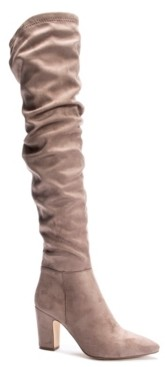 Chinese Laundry Roland Slouchy Over The Knee Boots Women's Shoes