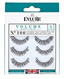 Eylure Eyl Volume Eyelash Multi Pack, 100, 3 Count