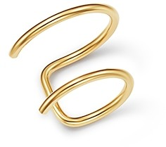 Zoë Chicco 14K Yellow Gold Thin Double Ear Cuff