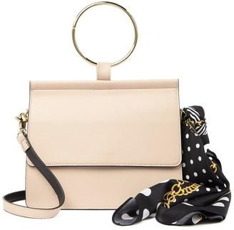 Belle & Bloom Brianna Leather Runway Shoulder Bag