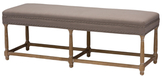 Baxton Studio Nathan Country Console Bench