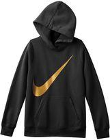 Nike Girls 7-16 Swoosh Graphic Hoodie