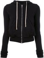 Rick Owens zipped hoodie - women - Cotton - S