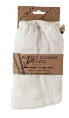 Hydrea London London Bamboo Hair Drying Wrap - Super Soft Texture