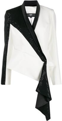 Avaro Figlio Embellished Wrap-Style Blazer