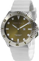Perry Ellis Unisex Deep Diver Olive Silicon Watch