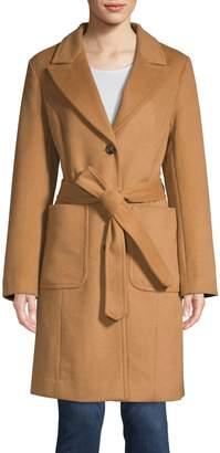 London Fog Heritage Wool-Blend Trench Coat