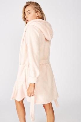 Body Luxury Plush Gown