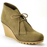 Kelsi Dagger Fanetta - Taupe Suede Wedge Bootie