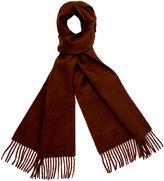 One Kings Lane Alpaca Wool Solid Scarf, Chocolate