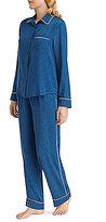 DKNY Geometric Satin Pajamas