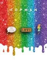TopmanTopman Pride Rainbow Badge Pack*