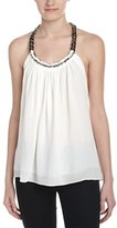 Ramy Brook Melissa Silk-blend Top.