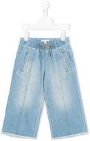 Chloé Kids - wide leg jeans - kids - Cotton - 12 yrs