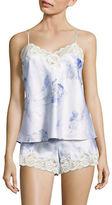 Lauren Ralph Lauren Signature Satin Lace Camisole Pyjama Set