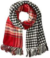 Steve Madden Double Play-D Blanket Wrap Scarves
