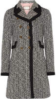 Gucci Double-breasted Tweed Coat