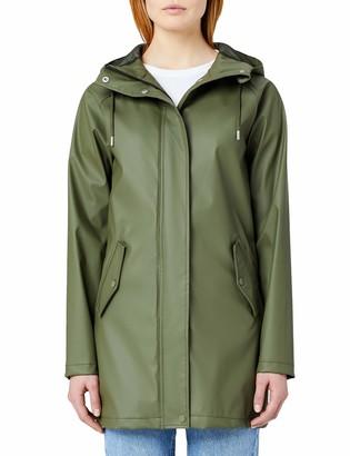 Meraki Amazon Brand Women's Water Resistant Raincoat