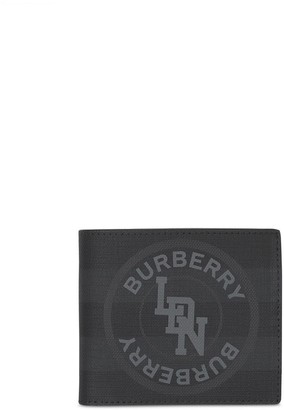 Burberry Graphic Logo Bi-Fold Wallet