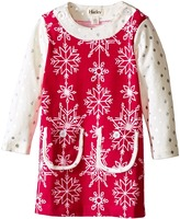 Hatley Pretty Snowflakes Mod Dress (Toddler/Little Kids/Big Kids)