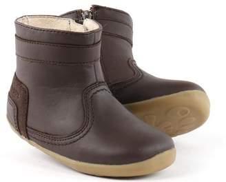 Bobux N/A n/a Step Up Espresso Bolt Boot - 19