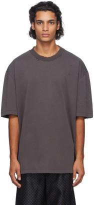 Maison Margiela Black Oversize Stone Wash T-Shirt
