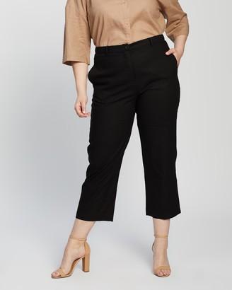 Atmos & Here Sasha Linen Blend Pants