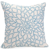 "Trina Turk Catalina Paisley 20"" Square Chainstitch Floral Decorative Pillow"