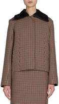 Nina Ricci Women's Checked Wool Jacket