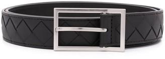 Bottega Veneta Interwoven-Design Buckle-Fastening Belt