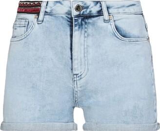 Maison Espin Denim shorts