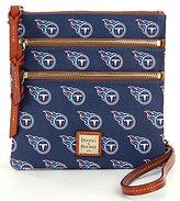 Dooney & Bourke NFL Collection Tennessee Titans Triple-Zip Cross-Body Bag