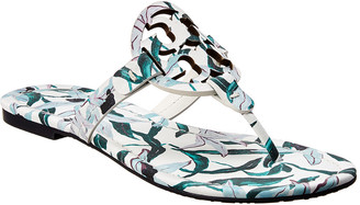 Tory Burch Miller Printed Leather Sandal