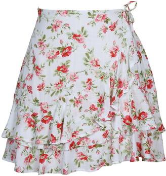 MinkPink Uncharted Heart Miniskirt