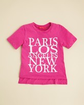Menu Girls' Cities Tee - Big Kid