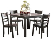 ACME Furniture 5 Piece Veles Dining Set Wood/Black - Acme