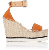 See by Chloe WOMEN'S SUEDE & LEATHER ESPADRILLE SANDALS
