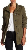 Rebecca Taylor Luxe Faux Fur Lined Twill Coat