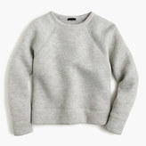 J.Crew Collection sweatshirt in Japanese scuba fabric