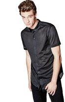 GUESS Jordan Mesh Longline Shirt