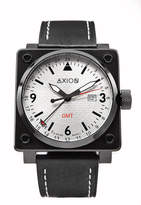 Axion Swiss Dual Time Watches Men's Square Swiss Watch
