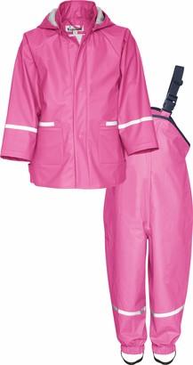 Playshoes Girls' Regen Rainsuit Set Basic rain Jacket