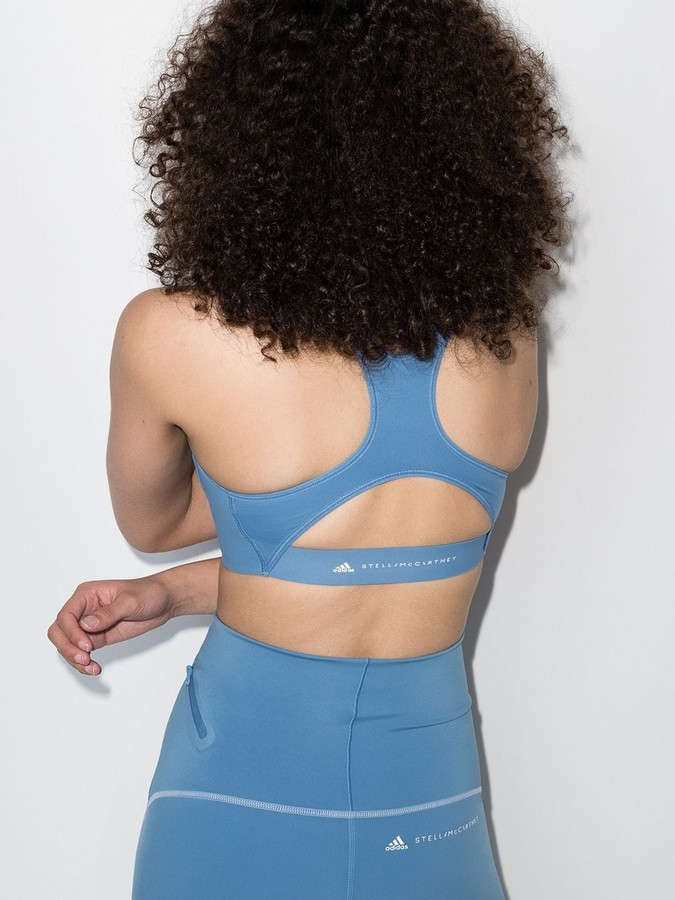 Thumbnail for your product : adidas by Stella McCartney TruePurpose sports bra