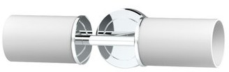 Gatco Latitude II 2 - Light Dimmable Armed Sconce Finish: Chrome