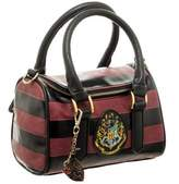 Bioworld Women's Harry Potter Hogwarts Mini Satchel Handbag Purse with Charm Faux Leather