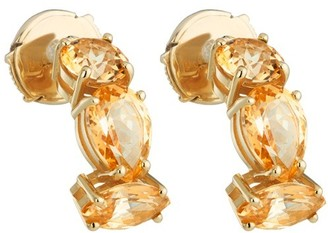 Swarovski Arc-en-ciel Earrings Honey Color Treated