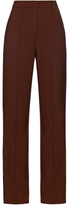 ADAM by Adam Lippes High-waisted stretch wool-crepe trousers
