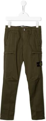Stone Island Junior cargo trousers